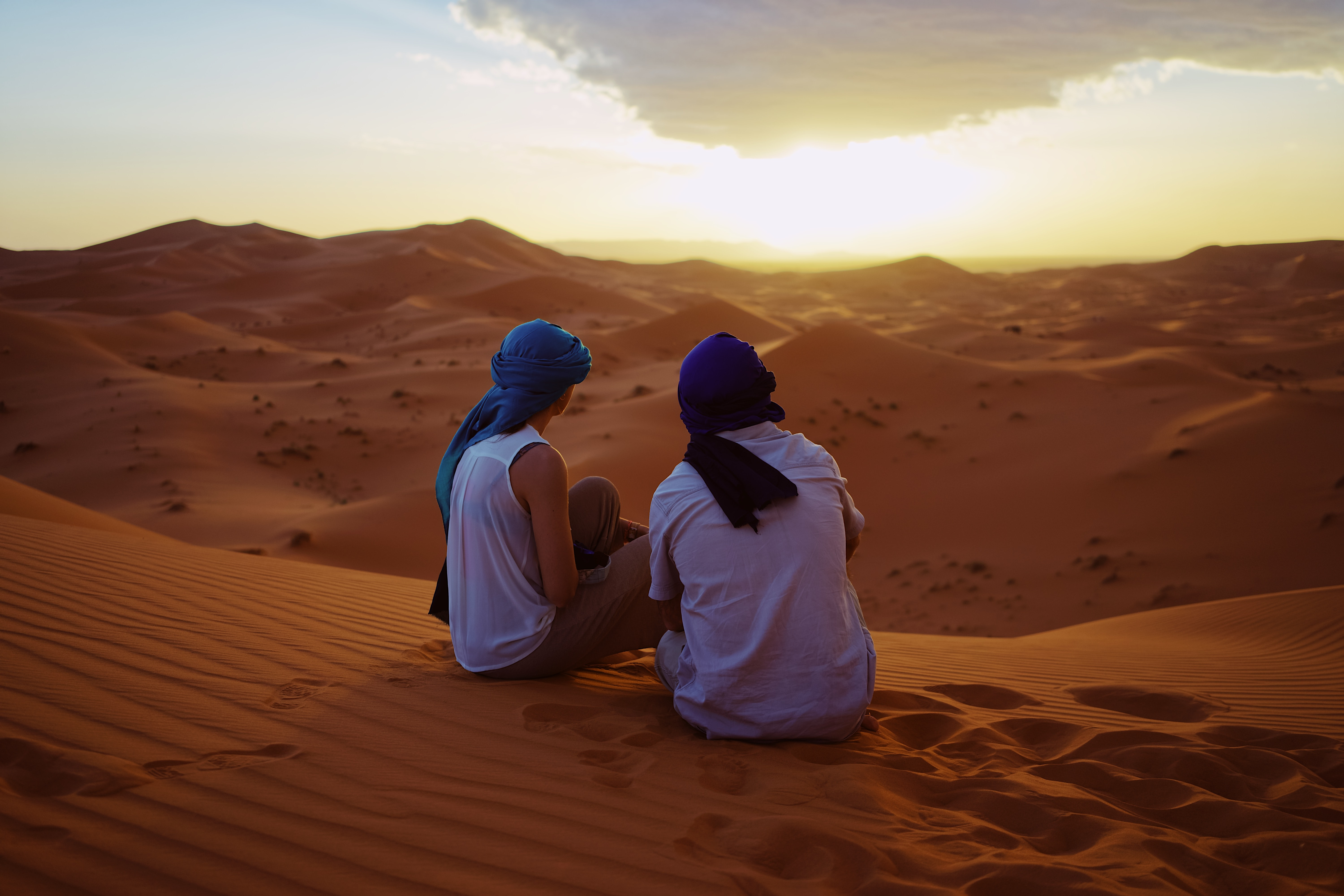 Where can I watch the sunset in Marrakech?