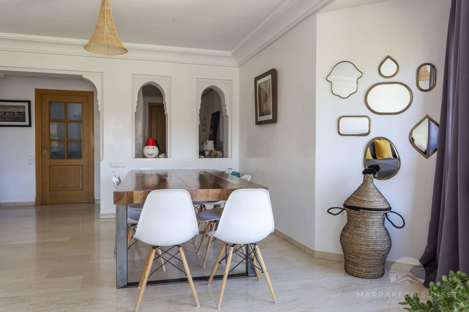 Duplex apartment for sale in Marrakech in a residential complex