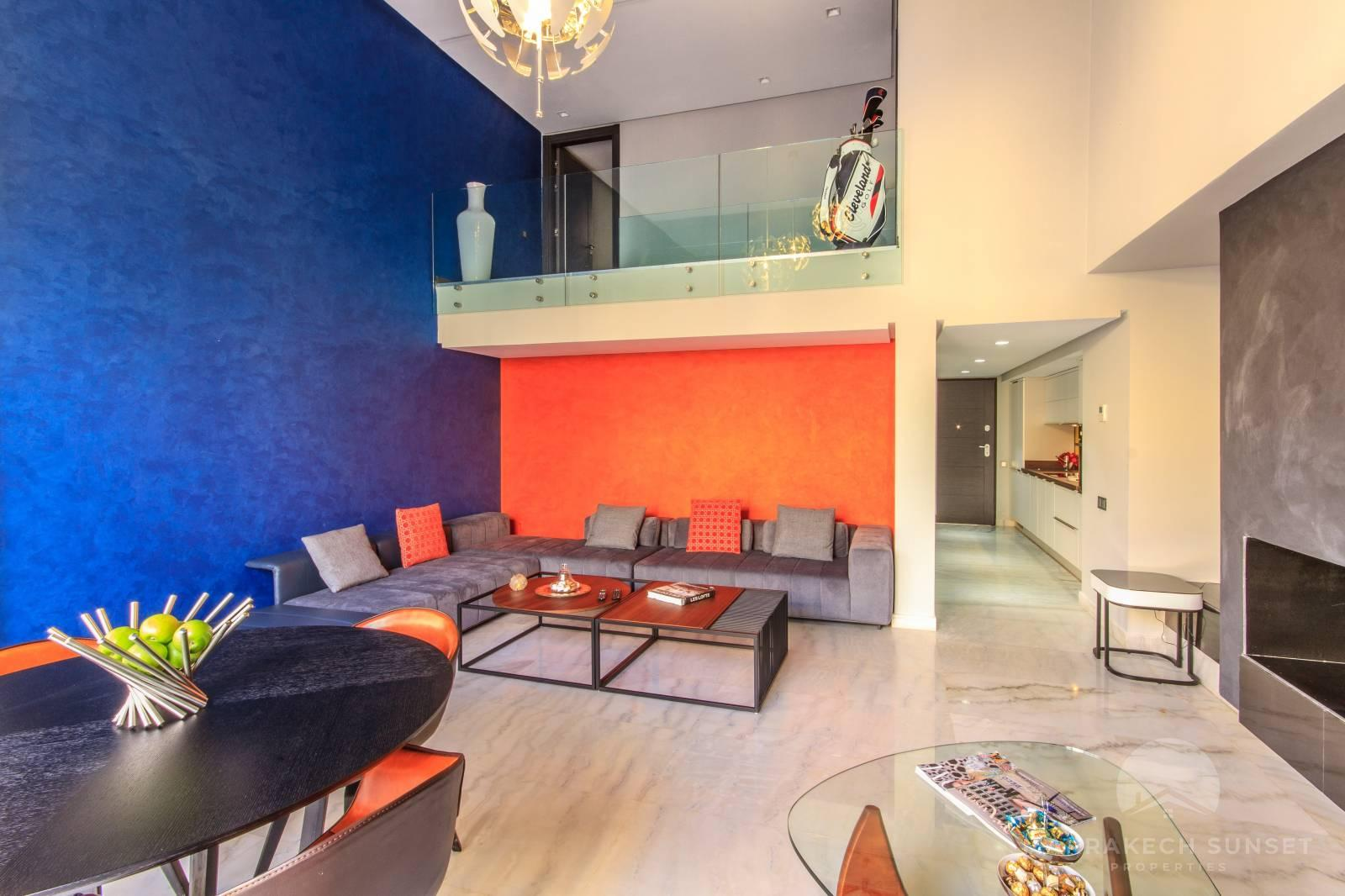 3 bedroom Loft apartment for sale in a gated Community in marrakech