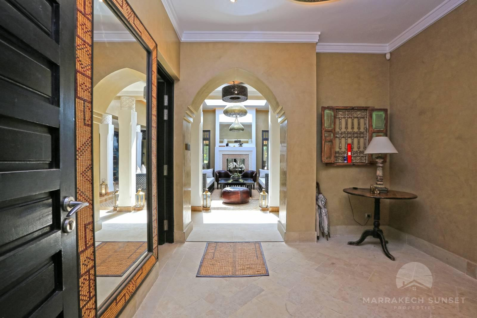 Stylish Riad style villa for sale