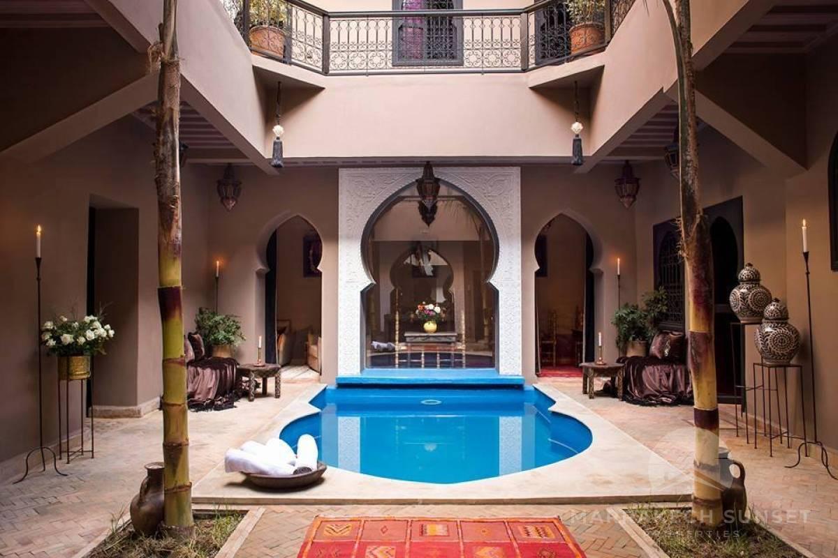 Riad à vendre à Marrakech de 9 chambres