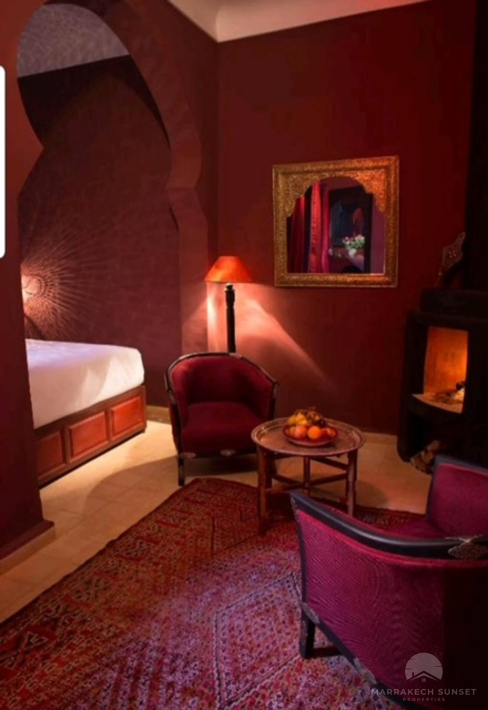 Authentic 9 bedroom Riad with prime location for sale in Marrakech