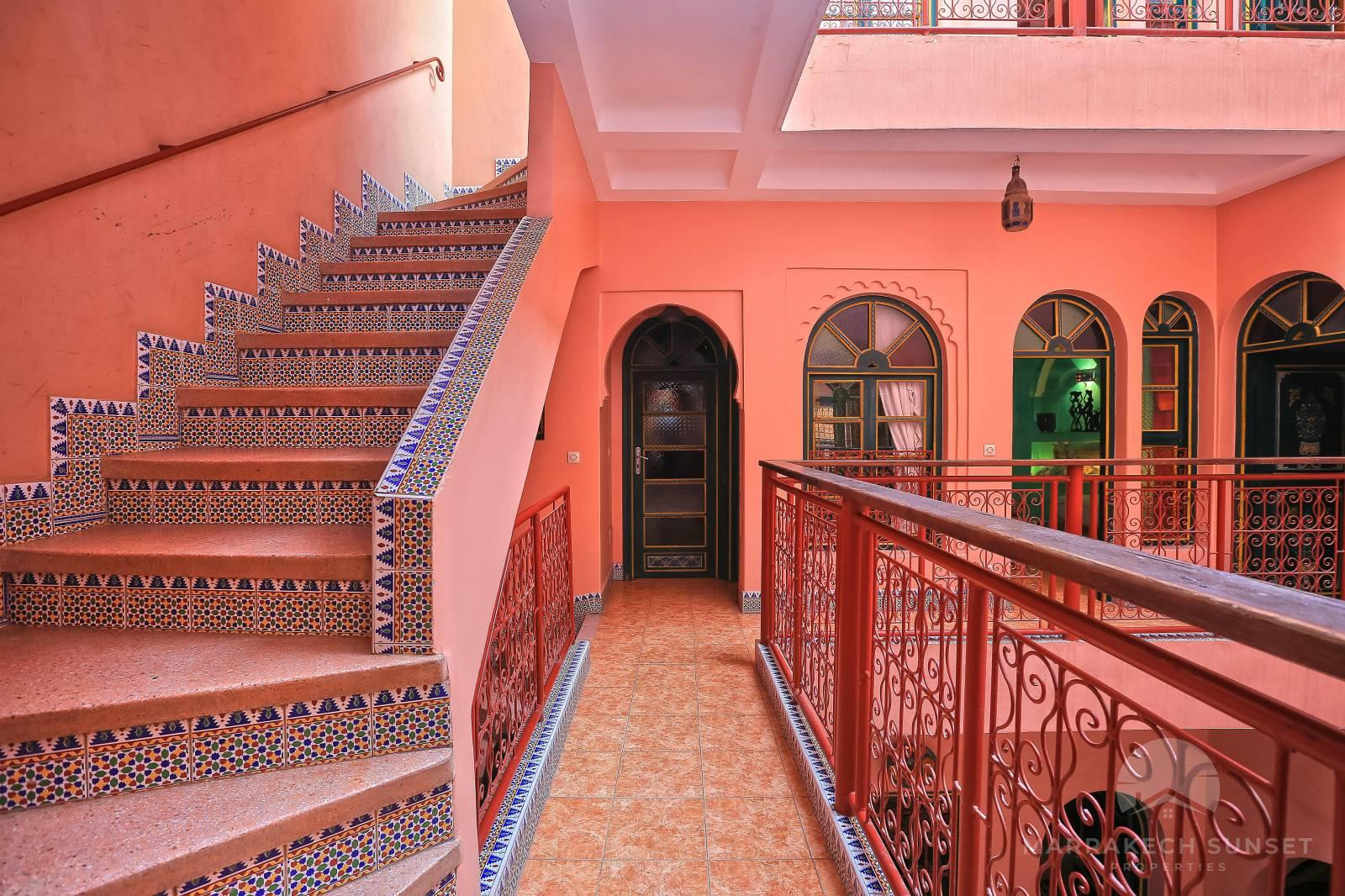 An exceptional 6 bedroom Marrakech riad for sale near Jemaa el fna square