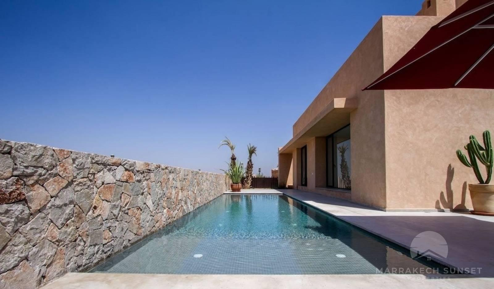 Modern Luxury villa for sale in Marrakech golf club