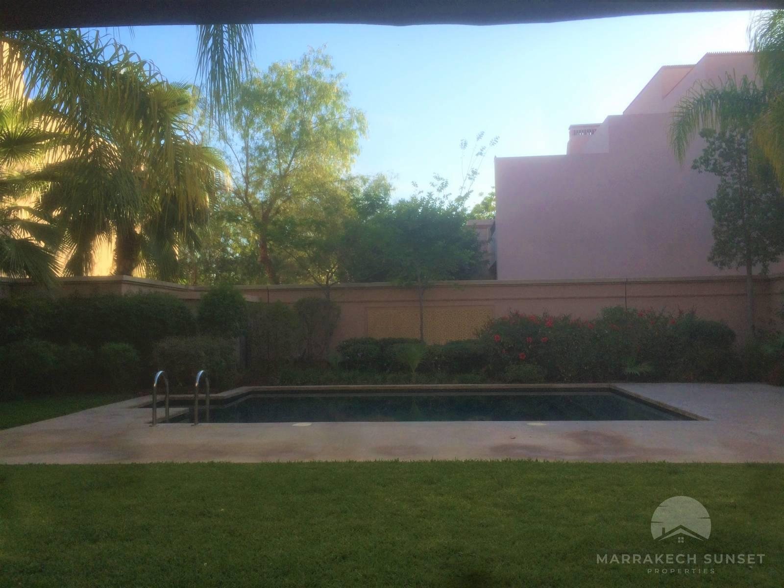 An exceptional luxury villa for rent Marrakech close to M avenue