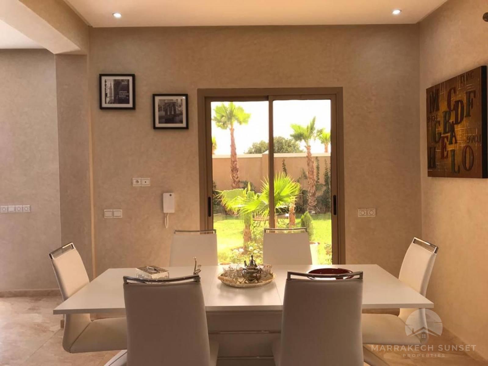 Beautiful villa for sale in Marrakech near Fairmont Royal Palm Golf course