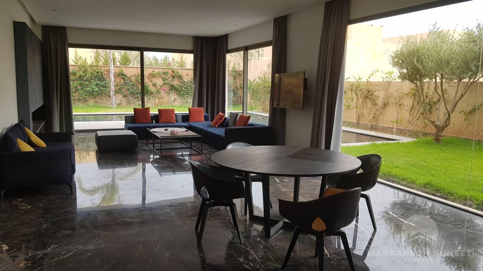 4 bedroom Luxury villa for sale in a private domain Marrakech