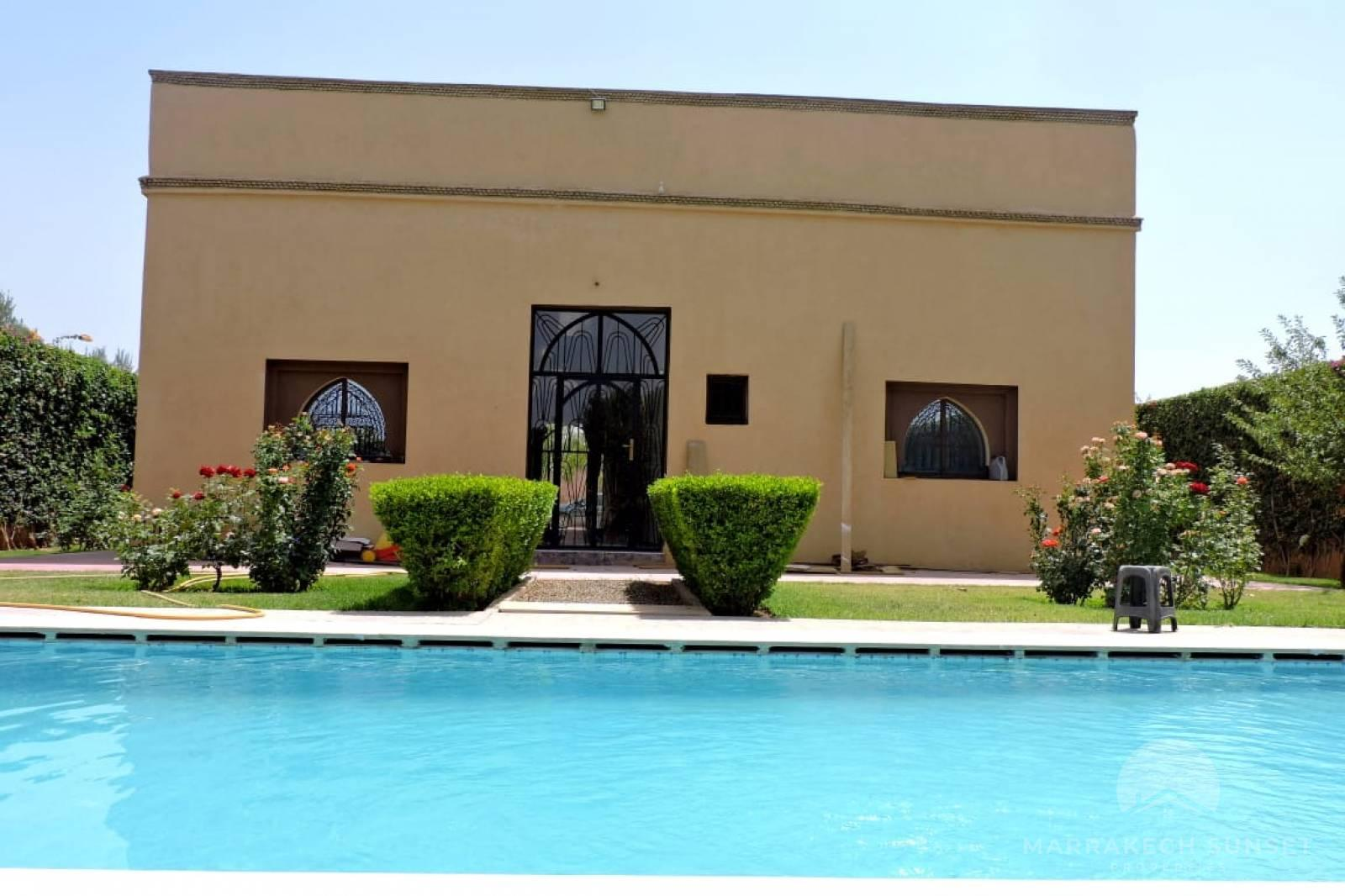 Lovely Titled country property for sale close to Marrakech